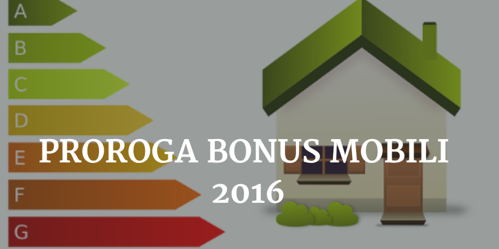 Legge di Stabilità 2016 bonus mobili
