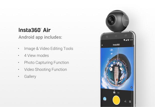 Insta360 Air Videocamera per smartphone