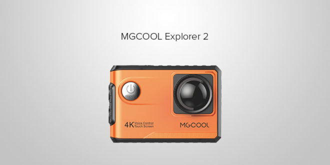 MGCOOL Explorer 2, Action Camera