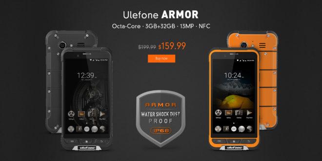 Ulefone Armor, promozione Gearbest