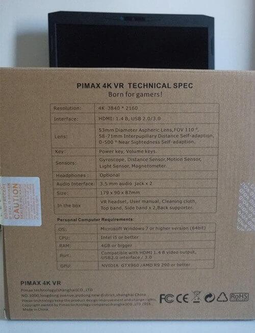 Visore PIMAX 4K