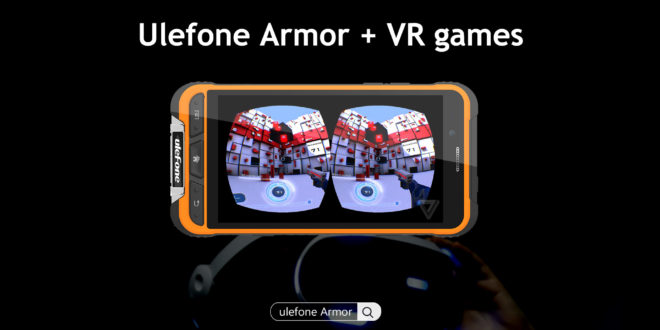 Ulefone Armor test giroscopio