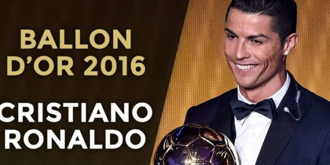 Pallone d'Oro Cristiano Ronaldo
