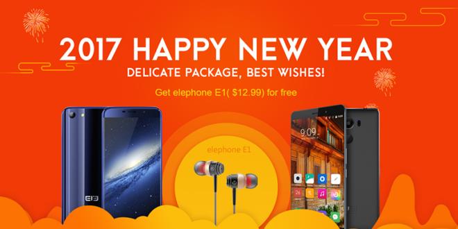 Promozione anno nuovo Elephone