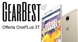 Offerta OnePlus 3T su Gearbest