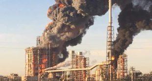 Esplosione Raffineria Eni di Pavia