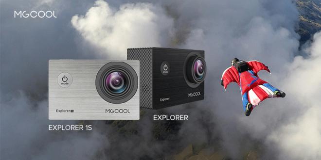 MGCOOL Explorer e Explorer 2 Action Camera
