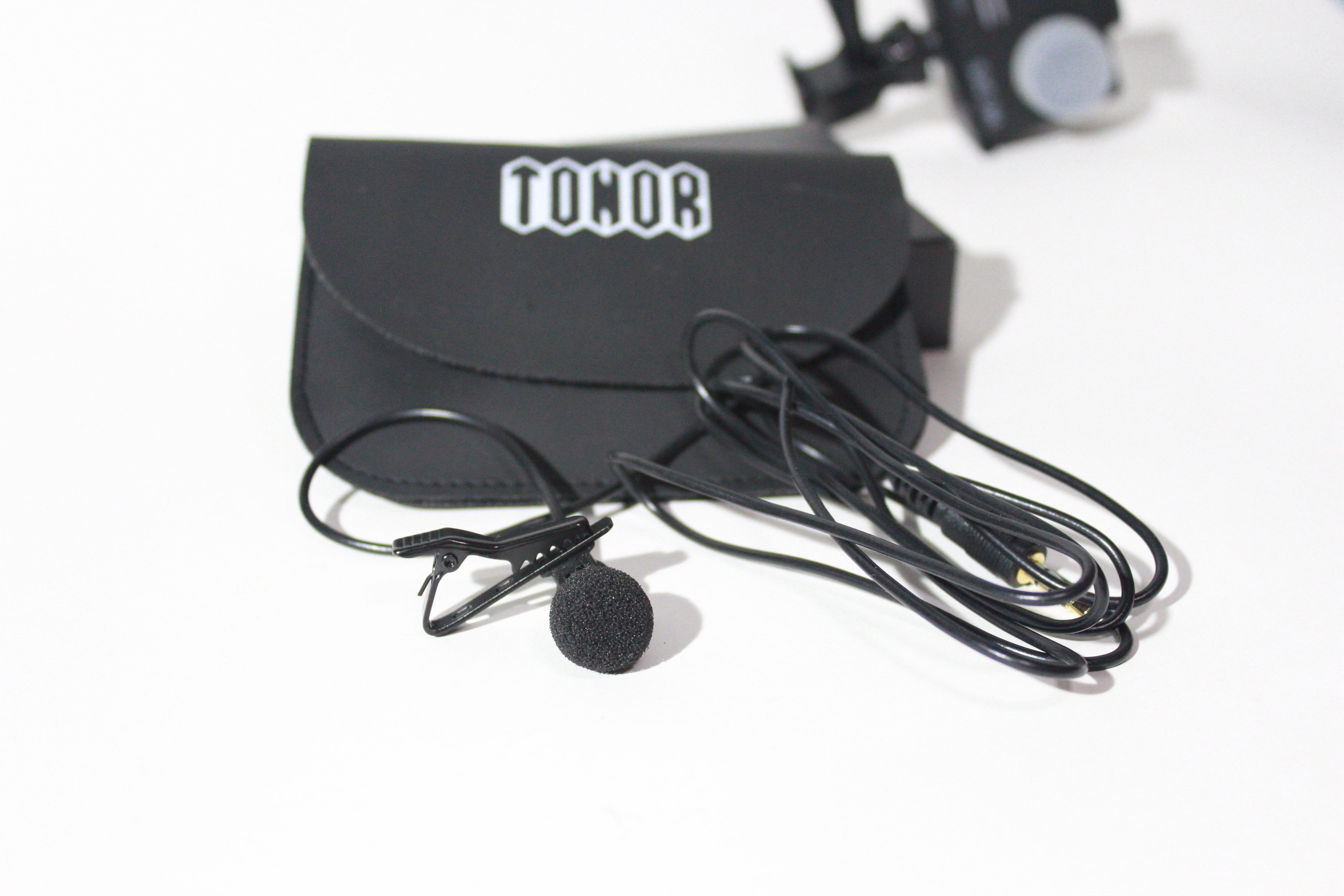 microfono a clip o lavalier tonor
