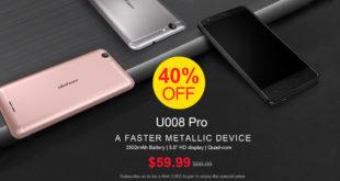 Ulefone U008 Pro offerta