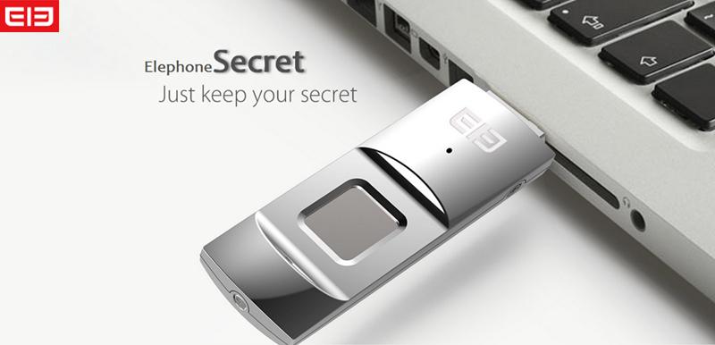 Elephone EleSecret penna usb con impronte digitali