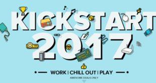 Offerta Gearbest Kickstart 2017