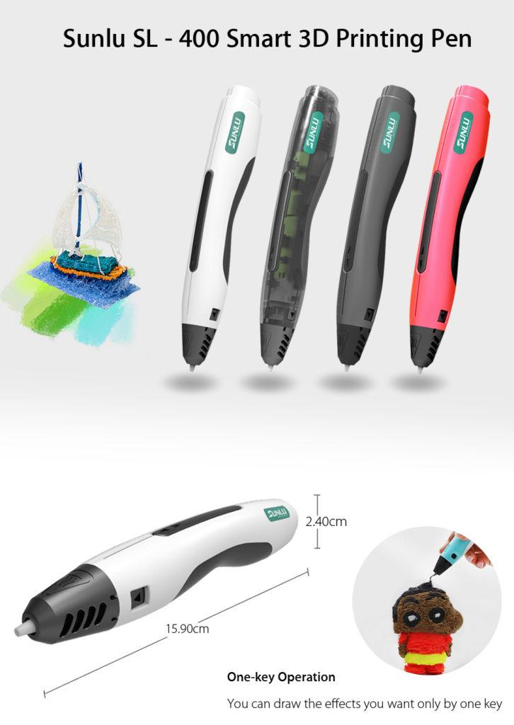 Penna 3D Sunlu SL - 400 Smart 3D Printing Pen