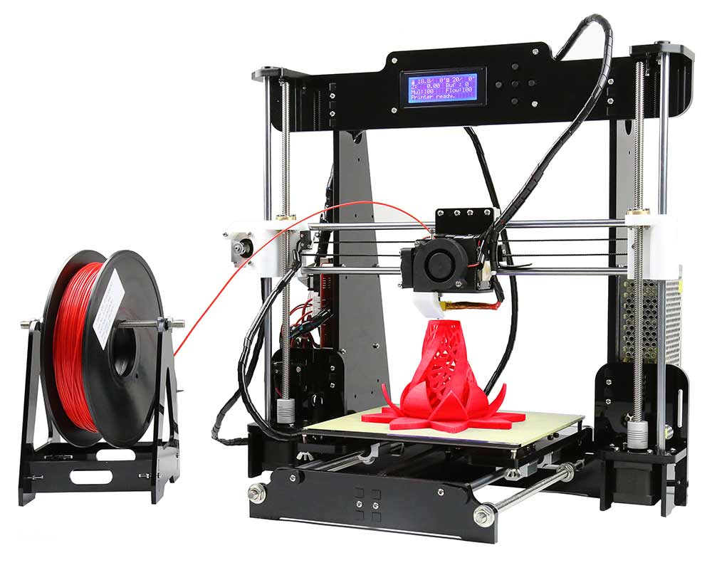 Stampante 3D Anet A8 Desktop 3D Printer Prusa i3
