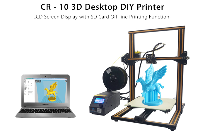 CR - Stampante 3D 10 3D Desktop DIY Printer