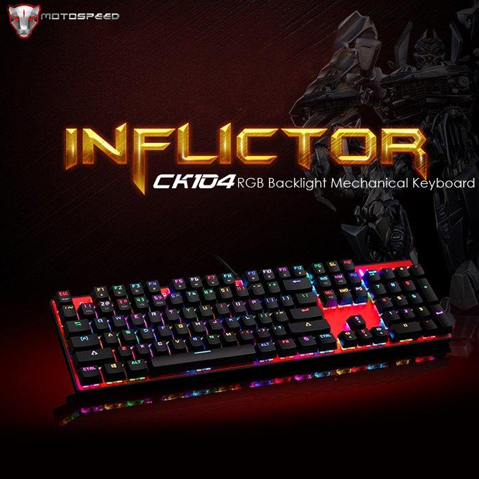 Tastiera Inflictor CK104 RGB