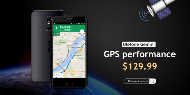 Ulefone Gemini Test GPS Video