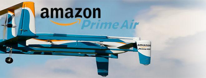 Amazon consegnerà i pacchi tramite paracadute
