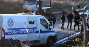 Assalto ad un portavalori in autostrada Avellino-Salerno