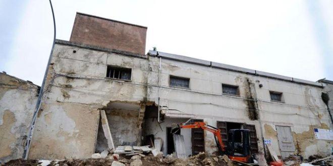 Crolla vecchio cinema Trapani