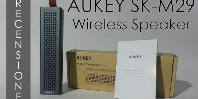 Speaker Aukey Bluetooth. La recensione ITA