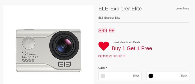 Promozione San Valentino Elephone Explorer Elite