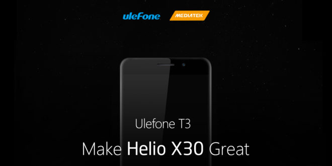 Ulefone T30, dual camera,8GB di Ram e processore deca-core