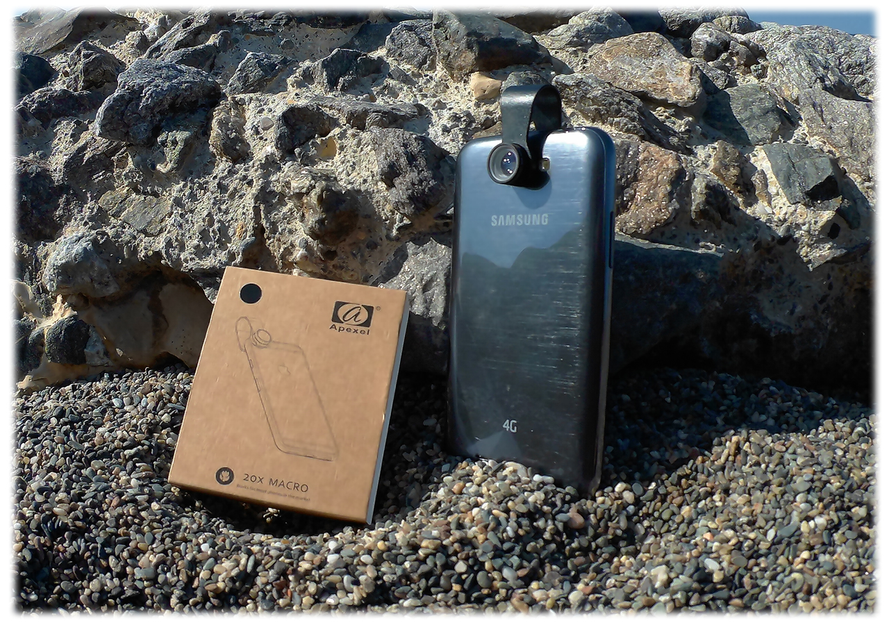 Lenti Macro per smartphone e iPhone Apexel recensione ITA