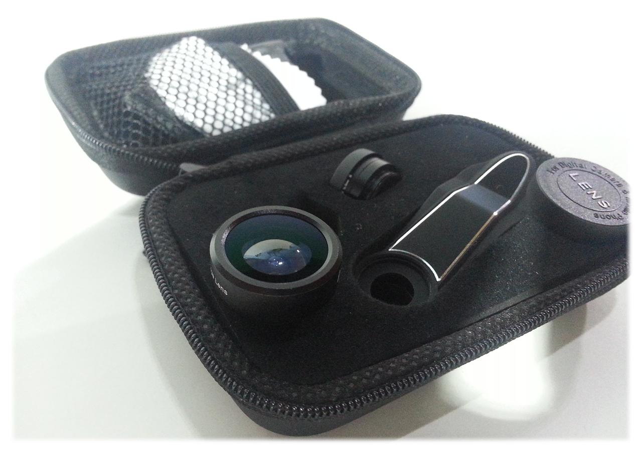 Recensione Kit 3 Lenti Aukey per smartphone. Lente Fisheye, Lente grandangolare e lente Macro