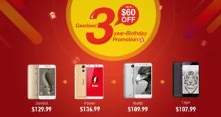 Promozioni prodotti Ulefone per anniversario Gearbest