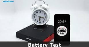 Uelfone Power 2, test video batteria