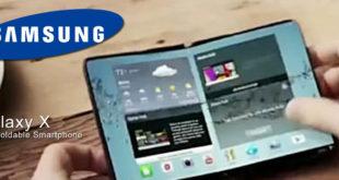 Samsung Galaxy X. Smartphone pieghevole