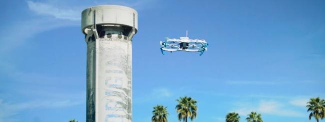 Amazon consegna pacco con drone