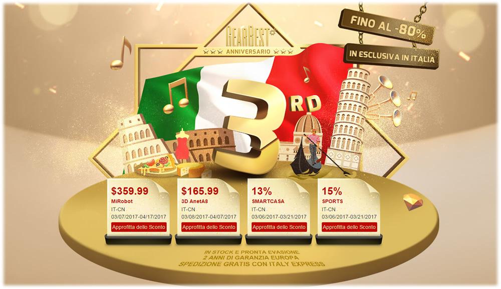 Gerabest Italia anniversario