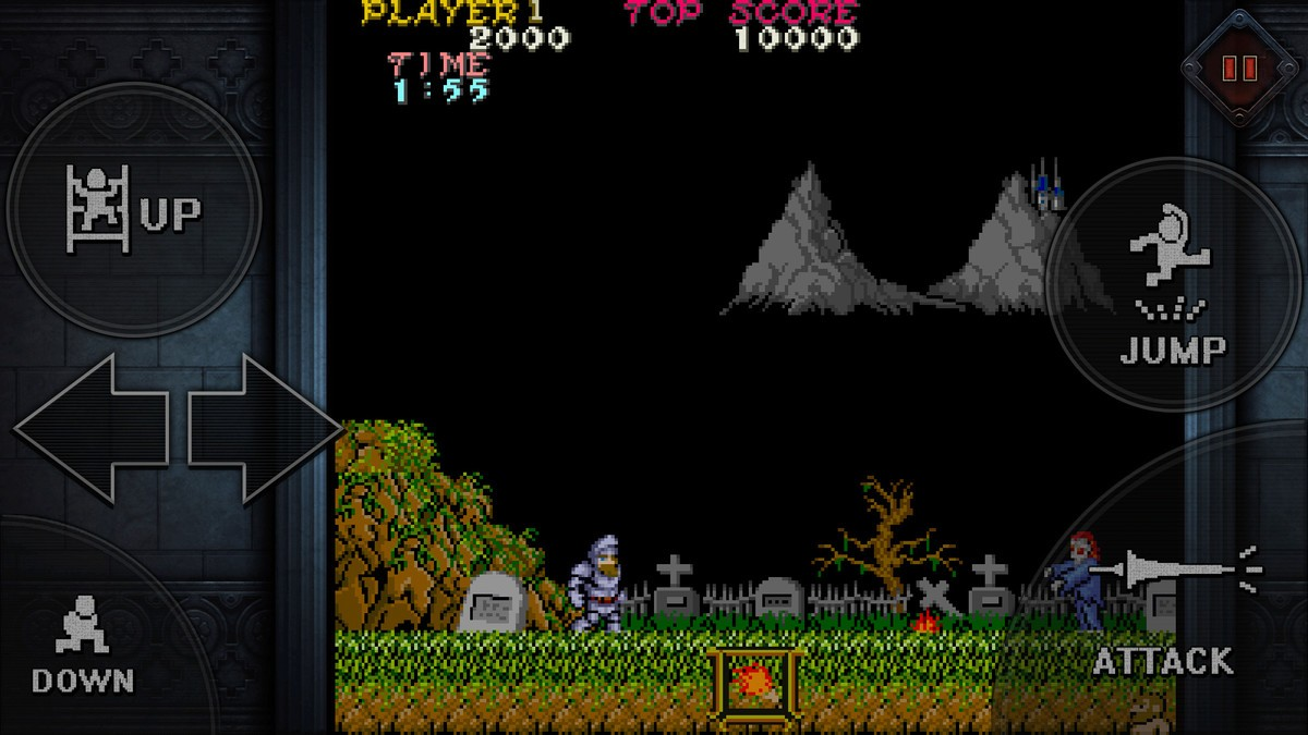 Ghosts'n Goblins adesso disponibile su mobile