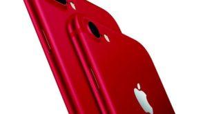 Apple presenta il nuovo iPhone 7 di colore rosso