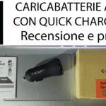 Caricabatterie Auto Spigen con Quick Charge 3.0