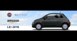 Fiat 500 noleggio online su amazon