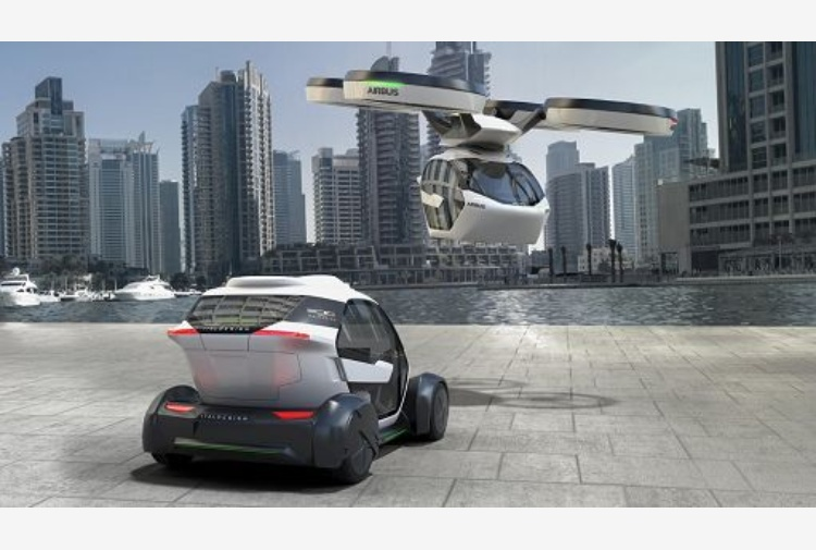 Pop.Up, una city car autonoma in grado anche di volare