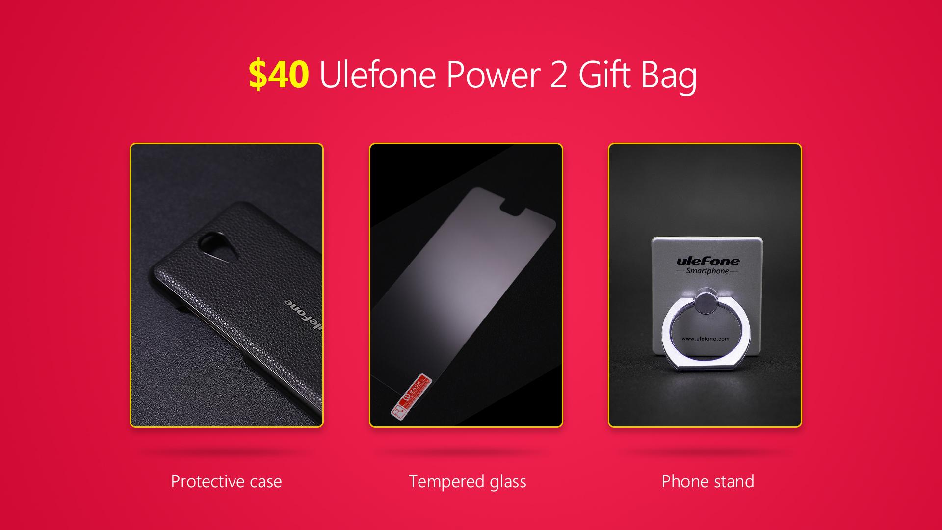 Ulefone Power 2 regali