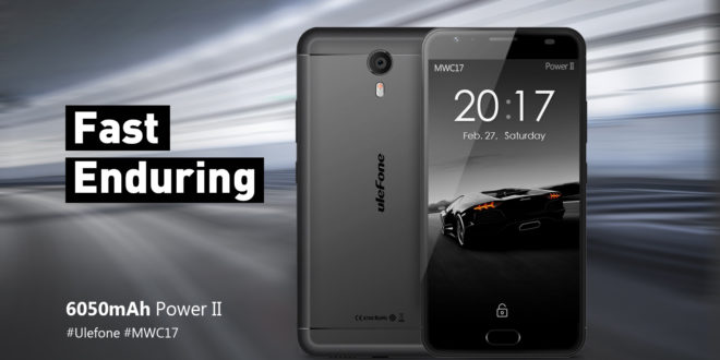 Ulefone Power 2 al Mobile World Congress