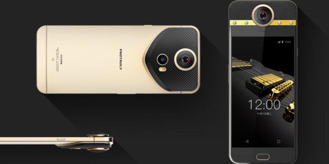 Protruly Darling il primo smartphone con videocamera a 360 gradi