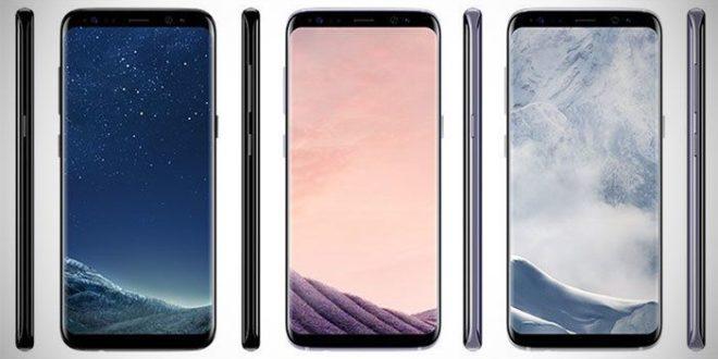 Samsung Gaalxy S8 e S8+, possibili colori e prezzo