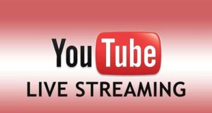 Novità Youtube. Live Streaming per tutti