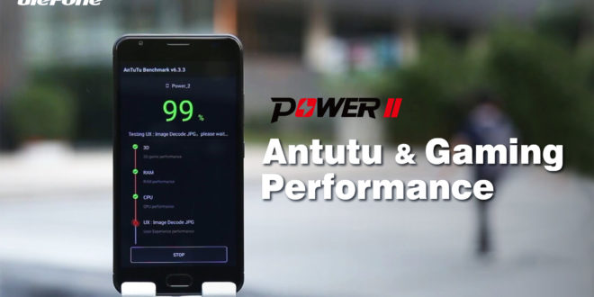 Ulefone Power 2 Test Antutu benchmark