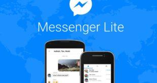 Messenger Lite arriva in Italia