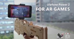 Ulefone Power 2 pistola bluetooth