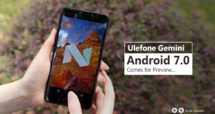 Ulefone Gemini con Android 7.0