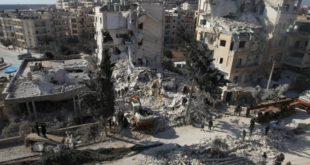 Attacco aereo con gas chimico in Siria