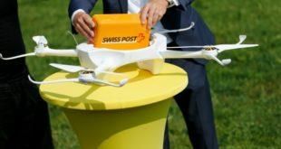 Droni per il trasporto di campioni di laboratorio