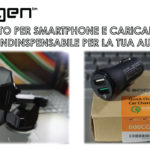 Supporto smartphone e caricabatterie per auto della Spigen